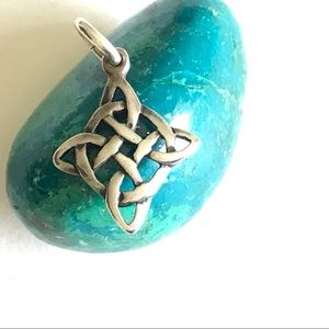 Sterling Silver Celtic Knot Family Pendant